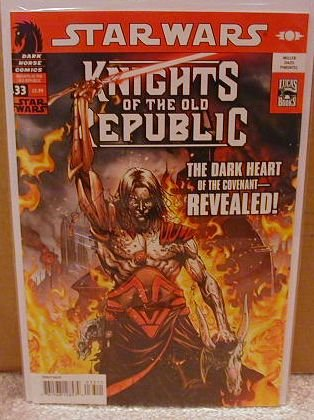 STAR WARS KNIGHTS OF THE OLD REPUBLIC #33 NM (2008)