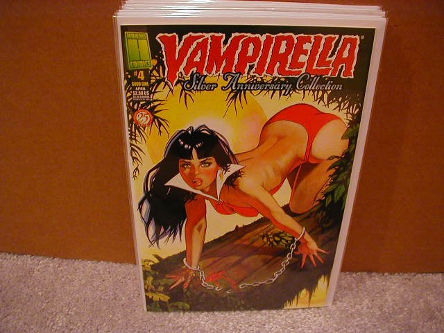 VAMPIRELLA SILVER ANNIVERSARY COLLECTION #4 VF/NM
