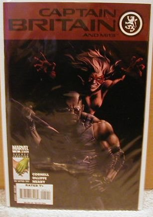 CAPTAIN BRITAIN AND MI13 #5 NM (2008)