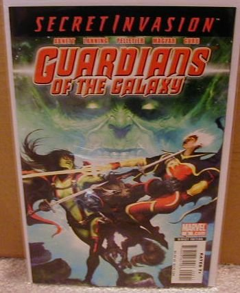 GUARDIANS OF THE GALAXY #5 NM (2008) *SECRET INVASION*