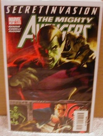 MIGHTY AVENGERS #18 NM (2008) SECRET INVASION