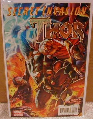 SECRET INVASION THOR #2 NM (2008)