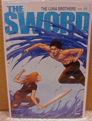 SWORD #11 NM (2008) **IMAGE**  ** LUNA BROTHERS**