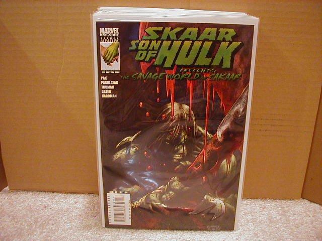 SKAAR SON OF HULK PRESENTS THE SAVAGE WORLD OF SAKAAR ONE-SHOT NM (2008)