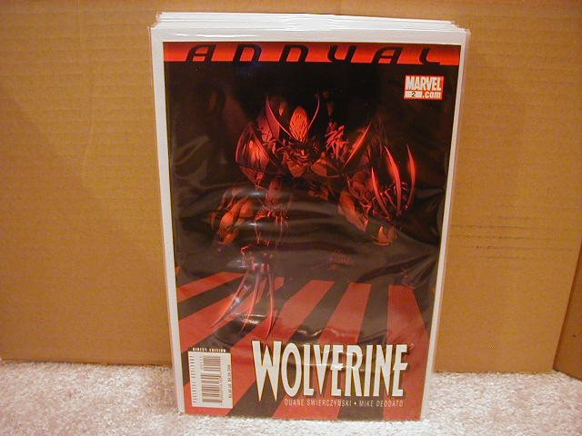 WOLVERINE ANNUAL #2 NM (2008)