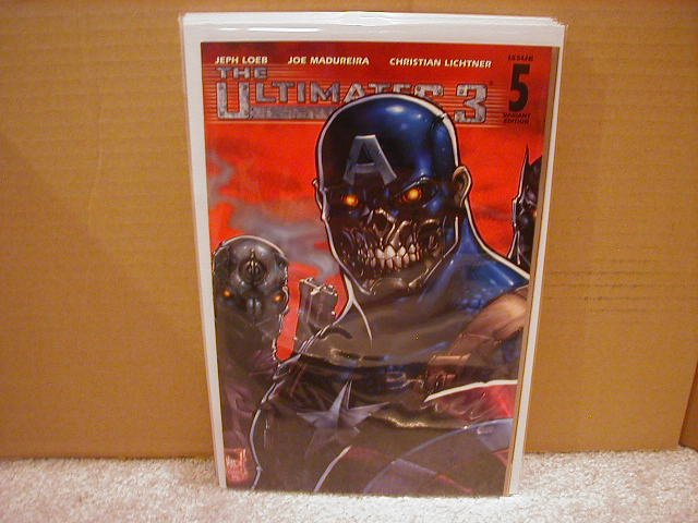 ULTIMATES 3 #5 VF/NM (2008)VARIANT 1ST PRINT COVER