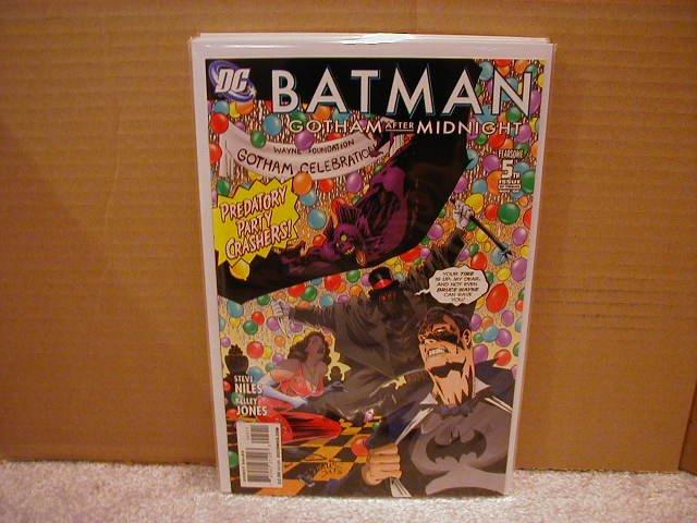 BATMAN GOTHAM AFTER MIDNIGHT #5 NM(2008)