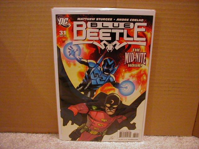 BLUE BEETLE #31 NM (2008)