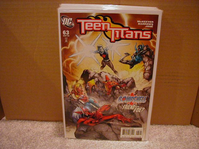 TEEN TITANS #63 NM (2008)