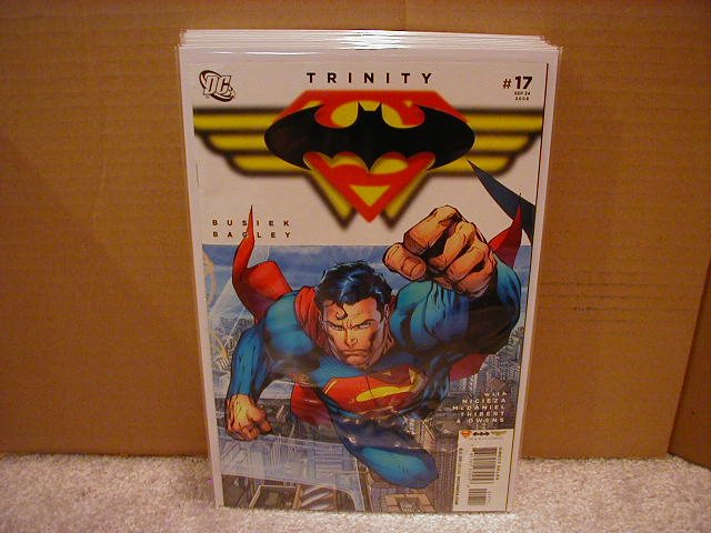 TRINITY #17 NM (2008) SUPERMAN, BATMAN, WONDERWOMAN