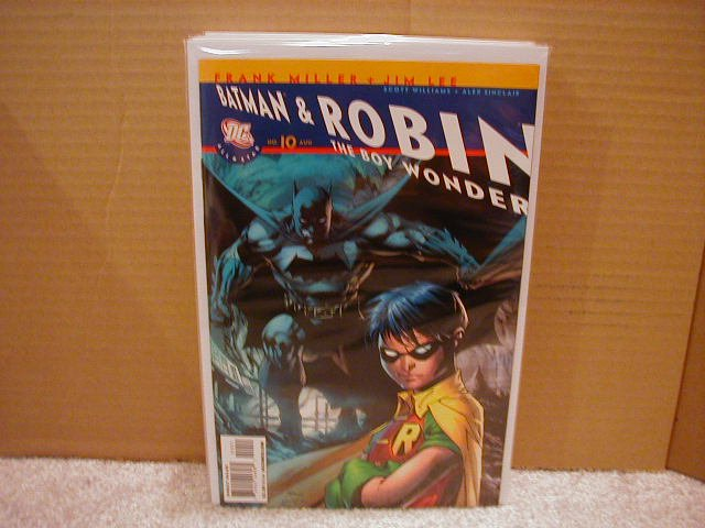 ALL STAR BATMAN & ROBIN #10  NM (2008)