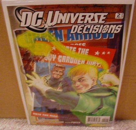 DC UNIVERSE DECISIONS #2 NM (2008)