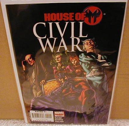 CIVIL WAR HOUSE OF M #2 NM (2008)