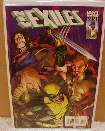 NEW EXILES #11 NM (2008)