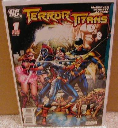 TERROR TITANS #1 NM (2008)