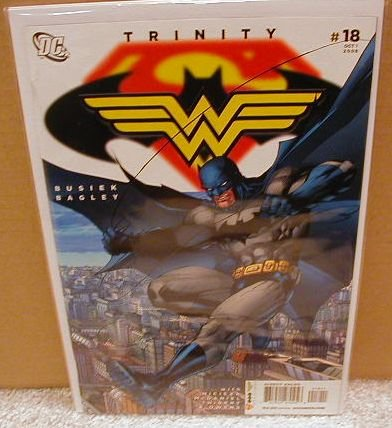 TRINITY #18 NM (2008) SUPERMAN, BATMAN, WONDERWOMAN