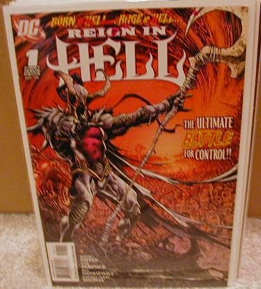 REIGN IN HELL #1 NM (2008)