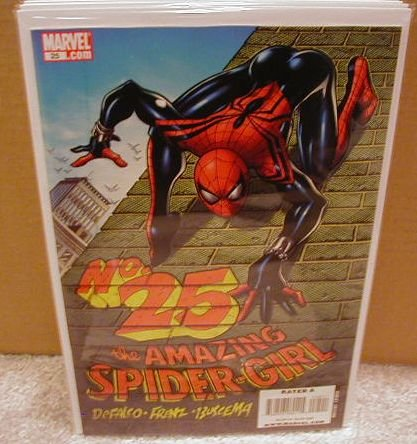 AMAZING SPIDER-GIRL #25 NM (2008)