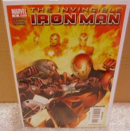 INVINCIBLE IRON MAN #6 NM (2008)