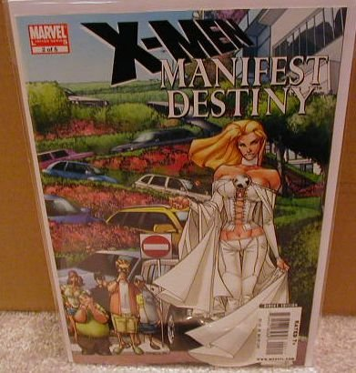 X-MEN MANIFEST DESTINY #2 NM (2008)