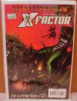 X-FACTOR #34 NM (2008) *SECRET INVASION*