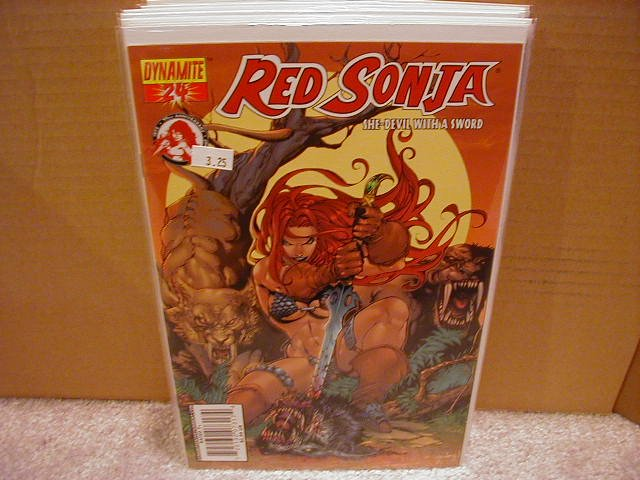 RED SONJA #24 VF/NM SEGOVIA COVER  * DYNAMITE*
