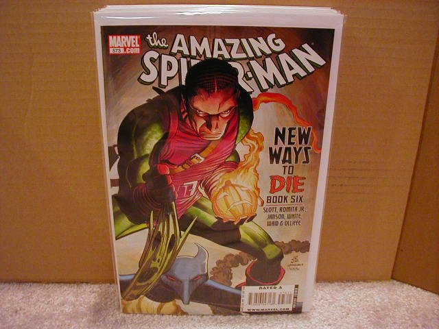 AMAZING SPIDER-MAN #573 NM (2008)