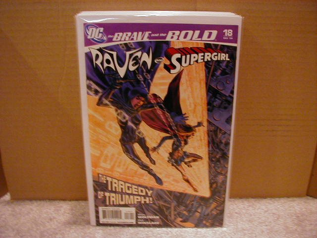BRAVE AND THE BOLD #18 NM (2008) SUPERGIRL AND RAVEN