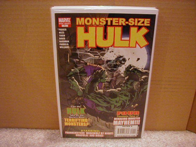 MONSTER-SIZE HULK ONE=SHOT (2008)NM