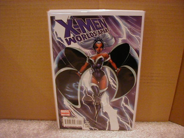 X-MEN WORLDS APART #1 NM (2008)