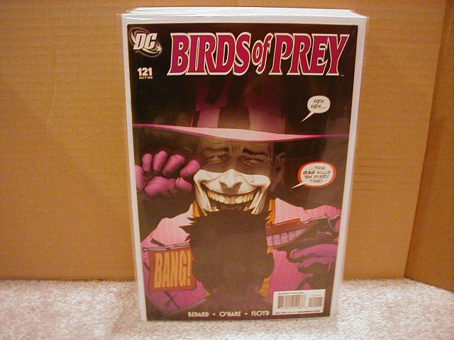 "BIRDS OF PREY #121 NM (2008) ""JOKER"""