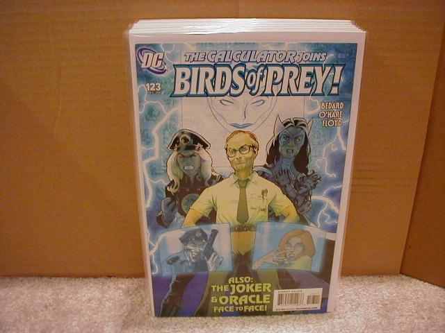 """BIRDS OF PREY #123 NM (2008) """"JOKER"""""""