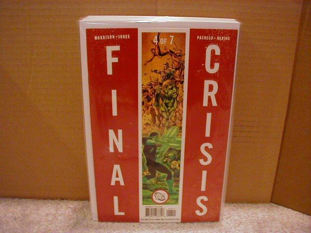 FINAL CRISIS #4 NM (2008) �A� COVER