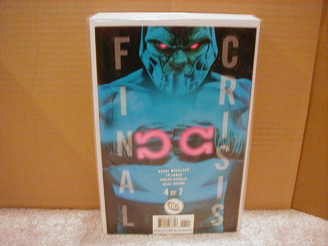 FINAL CRISIS #4 NM (2008) �B� COVER