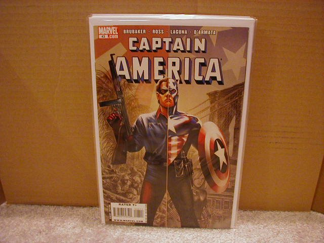 CAPTAIN AMERICA #43 NM (2008)