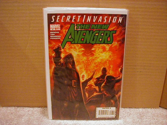 NEW AVENGERS #46 NM (2008) *SECRET INVASION*