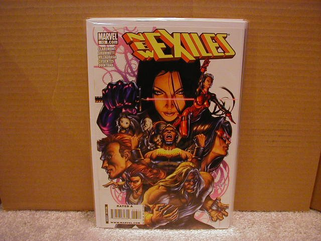 NEW EXILES #13 NM (2008)