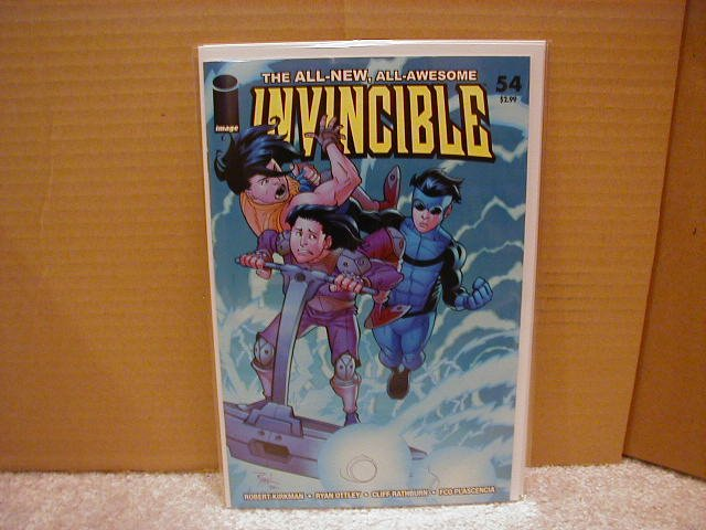 INVINCIBLE #54 NM (2008)