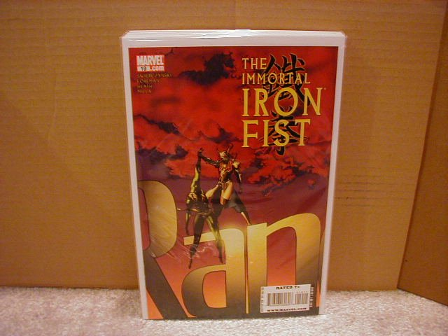 IMMORTAL IRON FIST #19 NM (2008)