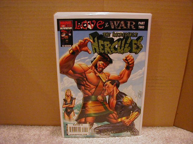 INCREDIBLE HERCULES #122 NM (2008) LOVE & WAR