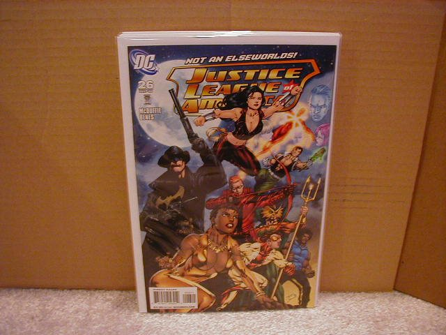 JUSTICE LEAGUE OF AMERICA #26 NM (2008)