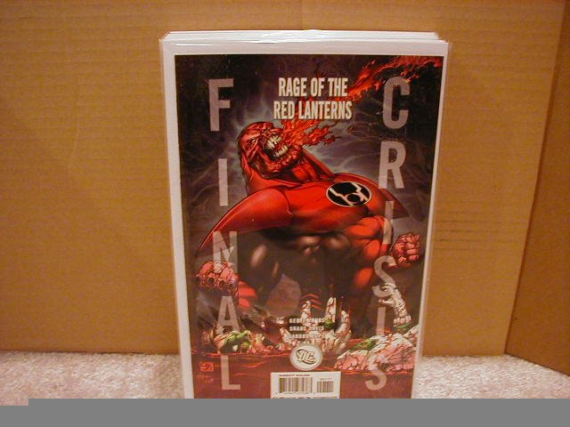 FINAL CRISIS RAGE OF THE RED LANTERNS #1 NM (2008) �A� COVER