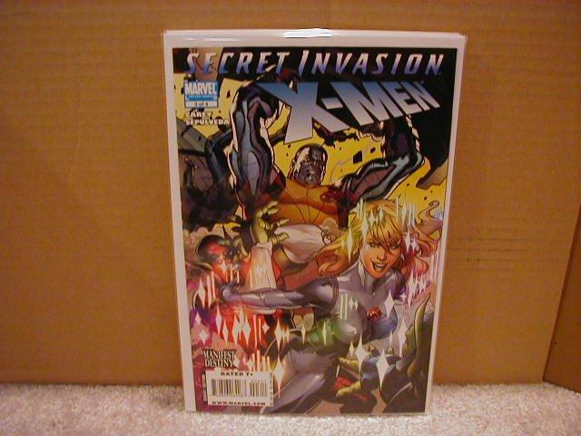 SECRET INVASION X-MEN #3 NM (2008)