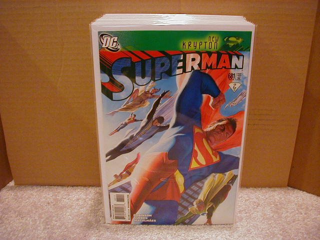 SUPERMAN #681 NM (2008) NEW KRYPTON