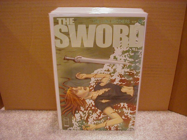 SWORD #12 NM (2008) **IMAGE**  ** LUNA BROTHERS**