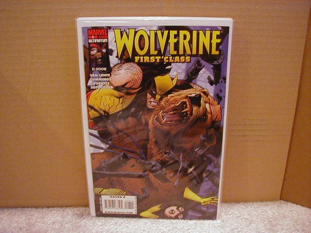 WOLVERINE FIRST CLASS #8 NM (2008)