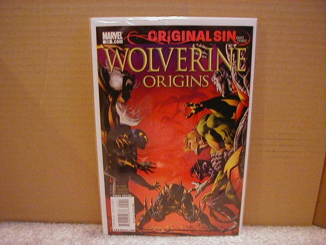 WOLVERINE ORIGINS #29 NM (2008)ORIGINAL SIN PART THREE