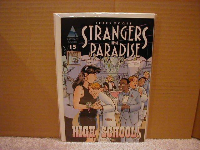 STRANGERS IN PARADISE VOL 3 #15 VF+ 1ST PRINT