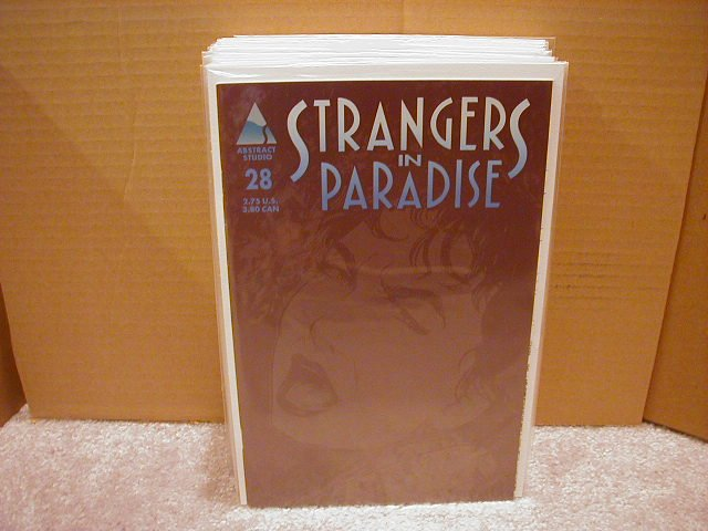 STRANGERS IN PARADISE VOL 3 #28 VF+ 1ST PRINT
