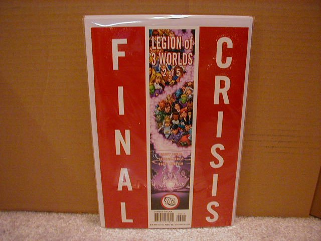 FINAL CRISIS LEGION OF 3 WORLDS #2 NM (2008)